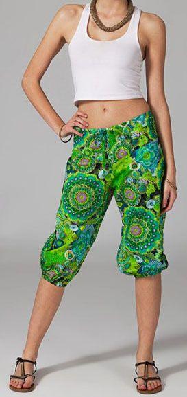 Pantacourt hippie pour femme Luc 269347