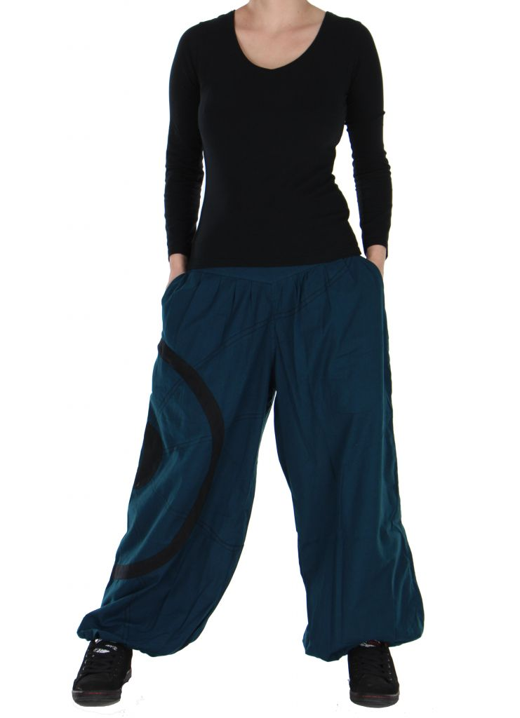 Pantalon aladin bleu original Ciblix 266671