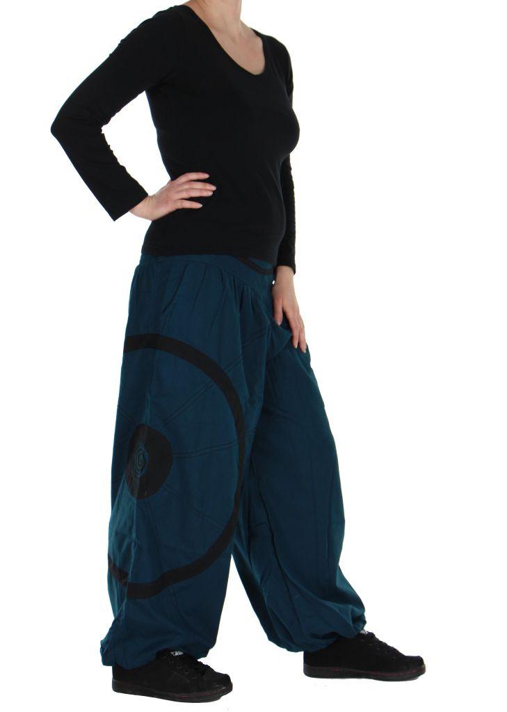 Pantalon aladin bleu original Ciblix 266673