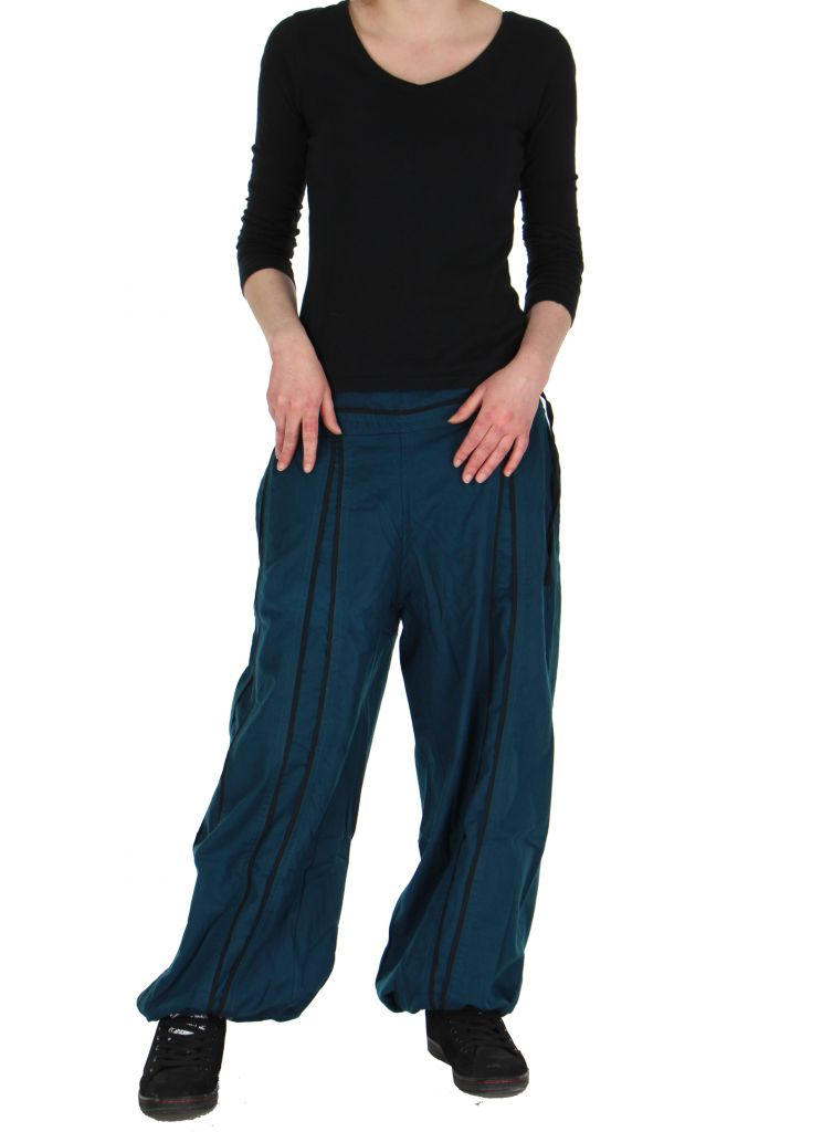 Pantalon aladin mixte bleu Gary 267309