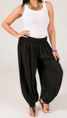 Pantalon aladin noir grande taille Edena 269530