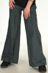 Pantalon Ample ou Bouffant pour Femme Original Tayao Gris 278518