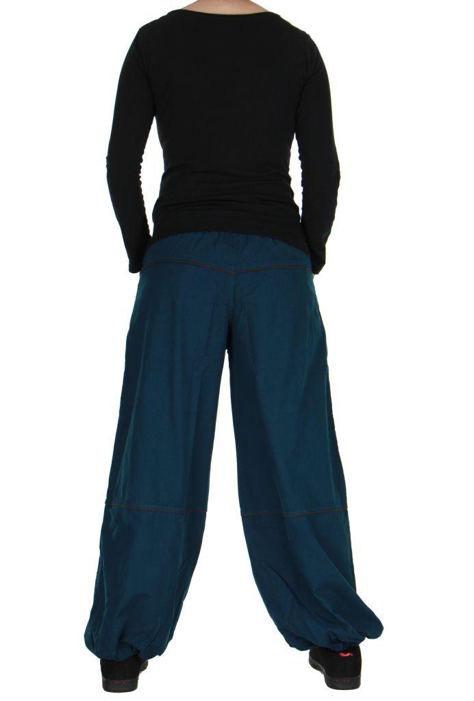 Pantalon baba cool mixte bleu Egway 266706