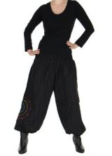 Pantalon baba cool Népalais noir calia 265914