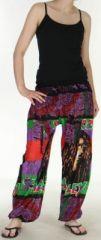 Pantalon coloré et imprimé à poches fantaisie Bob Marley Reggae 4 273063