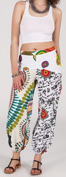 Pantalon coloré pas cher pour femme idéal l'été Missil 1 271562