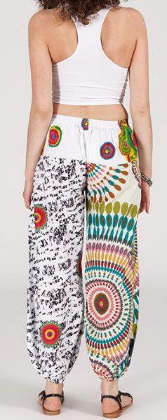 Pantalon coloré pas cher pour femme idéal l\'été Missil 1