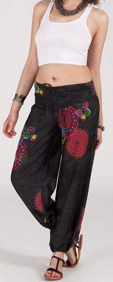 Pantalon coloré pas cher pour femme idéal l'été Missil 11 271582