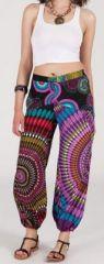 Pantalon color� pas cher pour femme id�al l'�t� Missil 5 271570