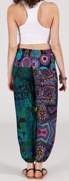 Pantalon coloré pas cher pour femme idéal l\'été Missil 7