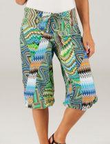 Pantalon court été femme ethnique chic de plage original Lucki 315387