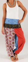 Pantalon d'été pour Femme Original à effet bouffant Faro 280324