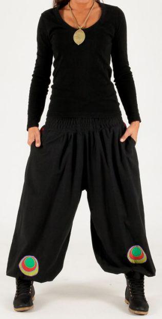 Pantalon effet sarouel Makari 269717