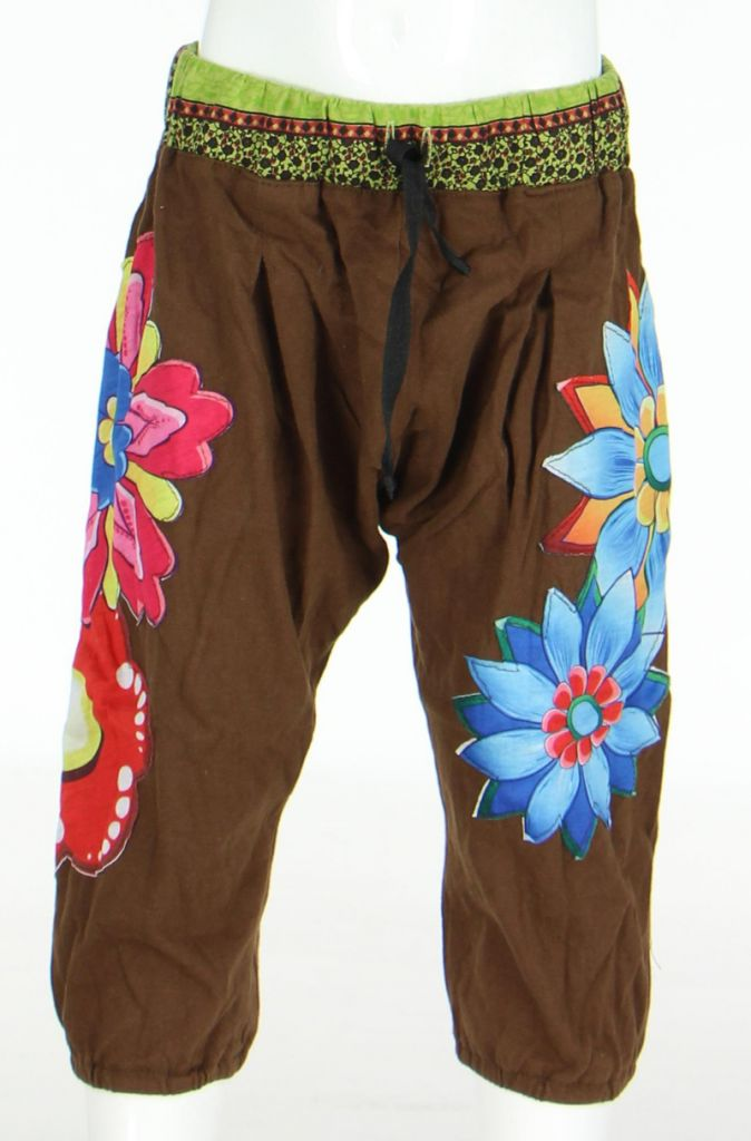 Pantalon enfant Aladin marron 270176