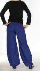 Pantalon ethnique bleu nuit Gulika 269946