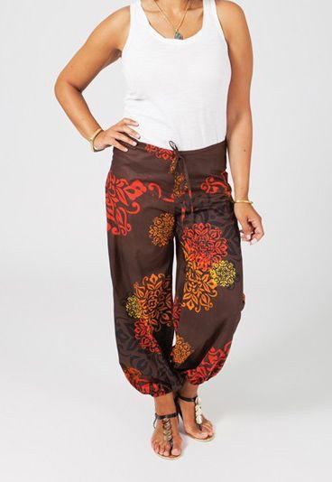 Pantalon ethnique femme ronde Josie 268679