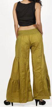 Pantalon femme d'été original et pas cher Vert Cassio 272204