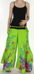 Pantalon femme ethnique et original tr�s ample Anis Aaron 273183
