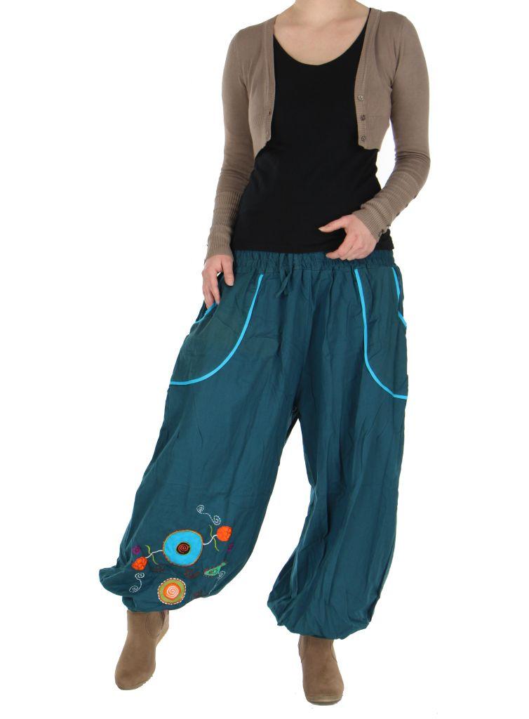 Pantalon femme ethnique xyzu 265894