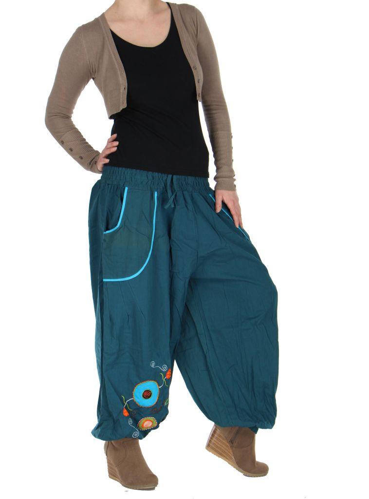 Pantalon femme ethnique xyzu 265895