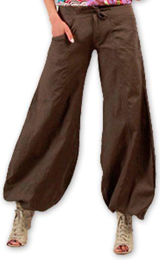 Pantalon femme évasé Original et Pas cher Sofi Gris 274508