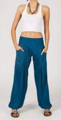 Pantalon femme fluide blue Danny 268059
