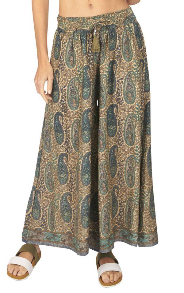 Pantalon femme large chic ethnique bohème Anastasia 317114