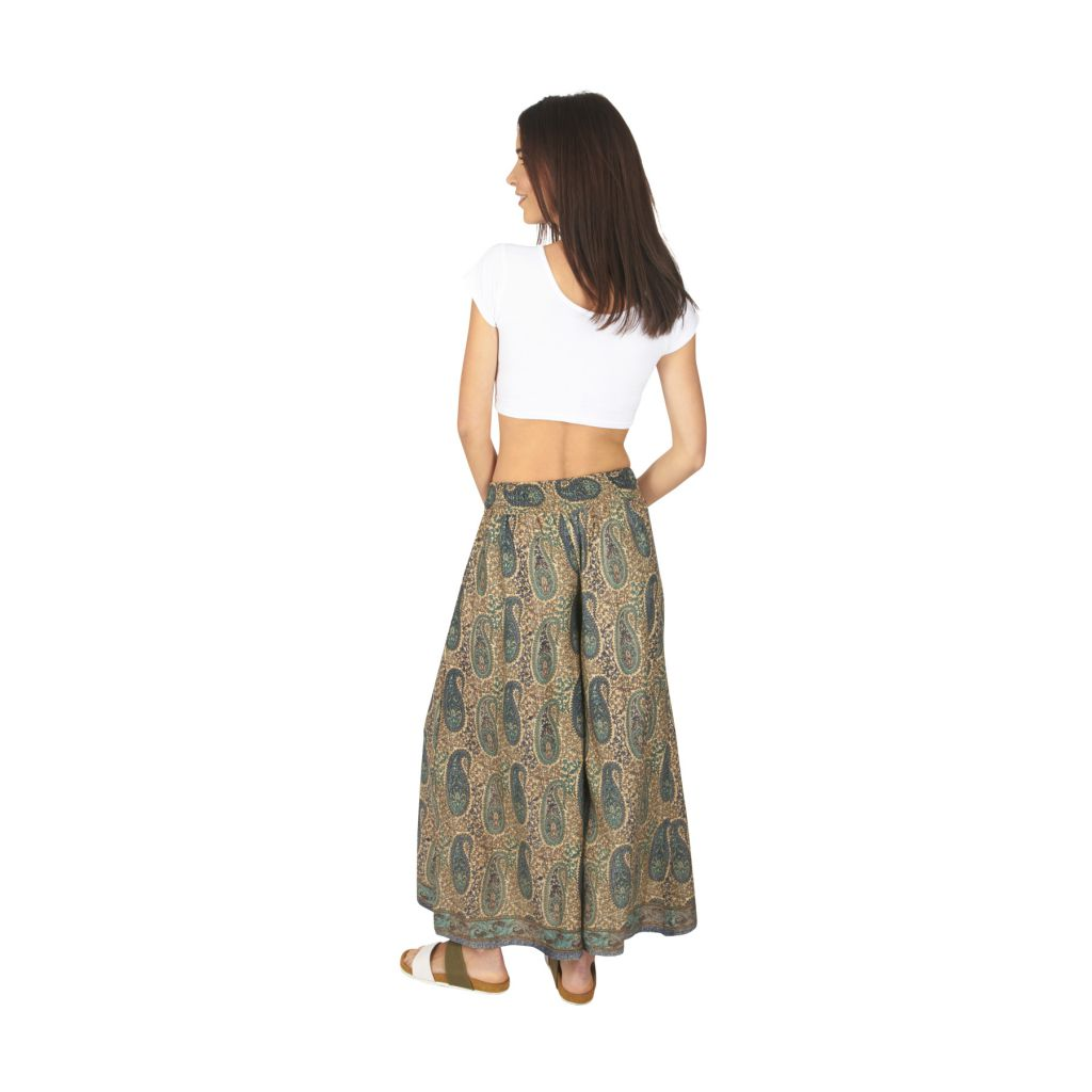 Pantalon femme large chic ethnique bohème Anastasia 317116