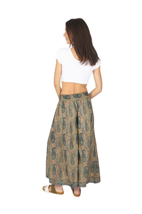 Pantalon femme large chic ethnique bohème Anastasia 317118