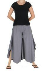 Pantalon femme large et original pike gris 263715
