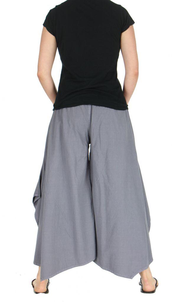 Pantalon femme large et original pike gris 263716