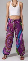 Pantalon femme pas cher ethnique Jérémy