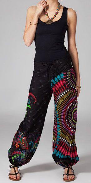 Pantalon femme pas cher imprimé Chris 269874