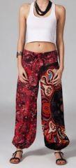 Pantalon femme pas cher imprimé Esteban 269897