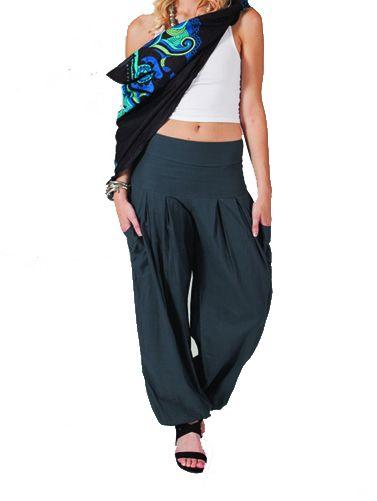 Pantalon Femme pour Détente ou Yoga Audric Gris 267436
