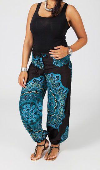 pantalon femme grande taille chic et pas cher lola. Black Bedroom Furniture Sets. Home Design Ideas