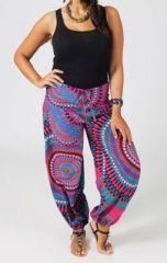 Pantalon grande taille ethnique Joey 270690