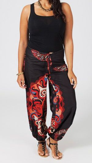 Pantalon grande taille femme Manille 270692