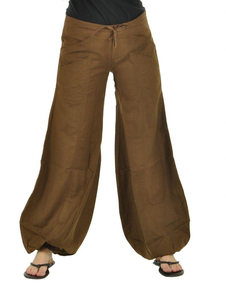 Pantalon gulika marron 266321