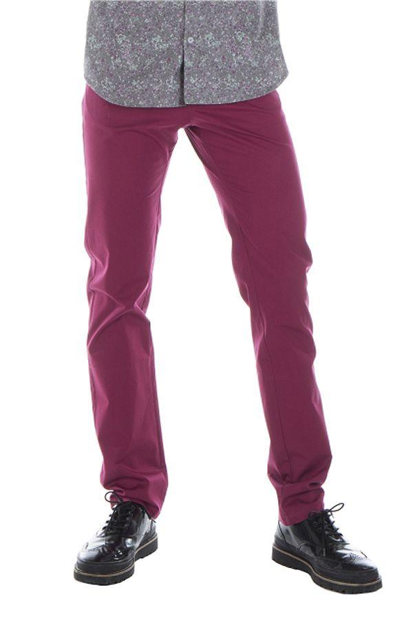 Pantalon homme chino ajusté chic couleur pas cher Brice 314341