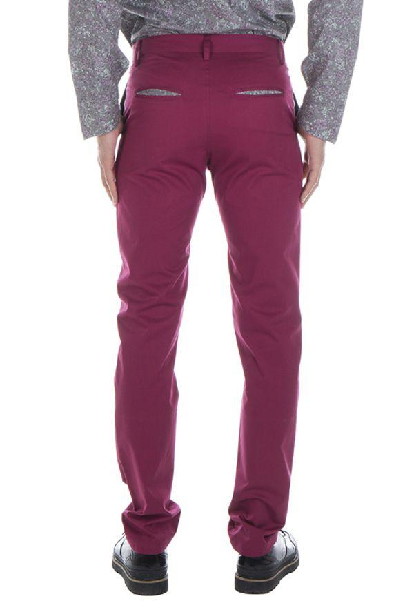 Pantalon homme chino ajusté chic couleur pas cher Brice 314342