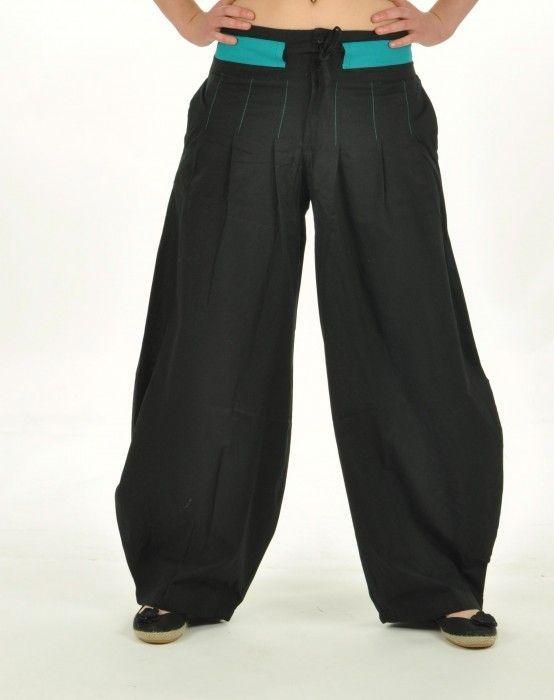 Pantalon madhur noir 237179