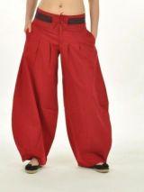 Pantalon madhur rouge 237182