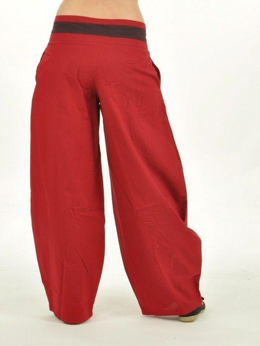 Pantalon madhur rouge 251872