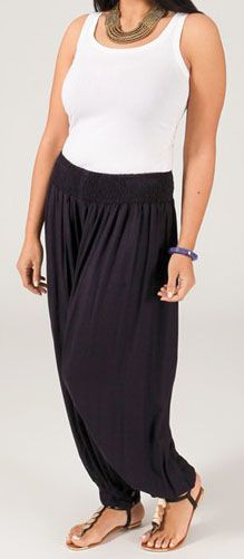 Pantalon Marine Aladin pour femme Grande taille Edena 269534