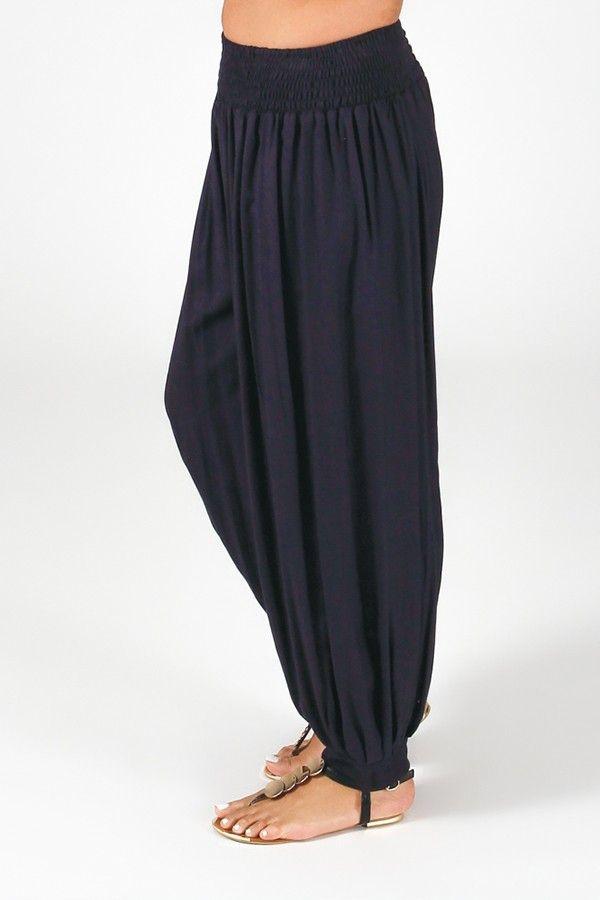 Pantalon Marine Aladin pour femme Grande taille Edena 317373