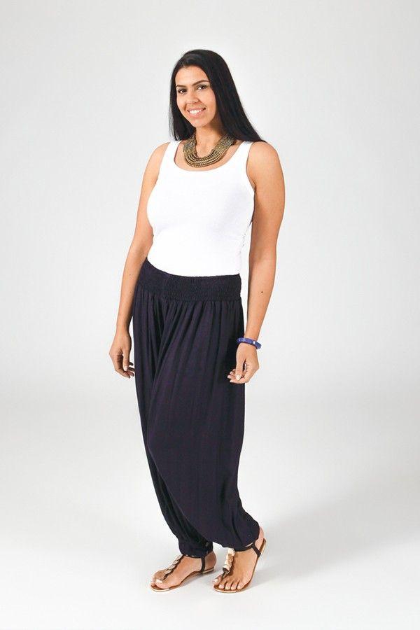 Pantalon Marine Aladin pour femme Grande taille Edena 317374