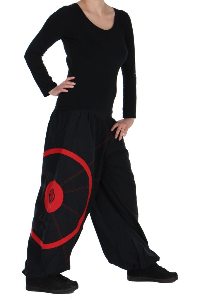 Pantalon noir et rouge aladin original Ciblix 266665