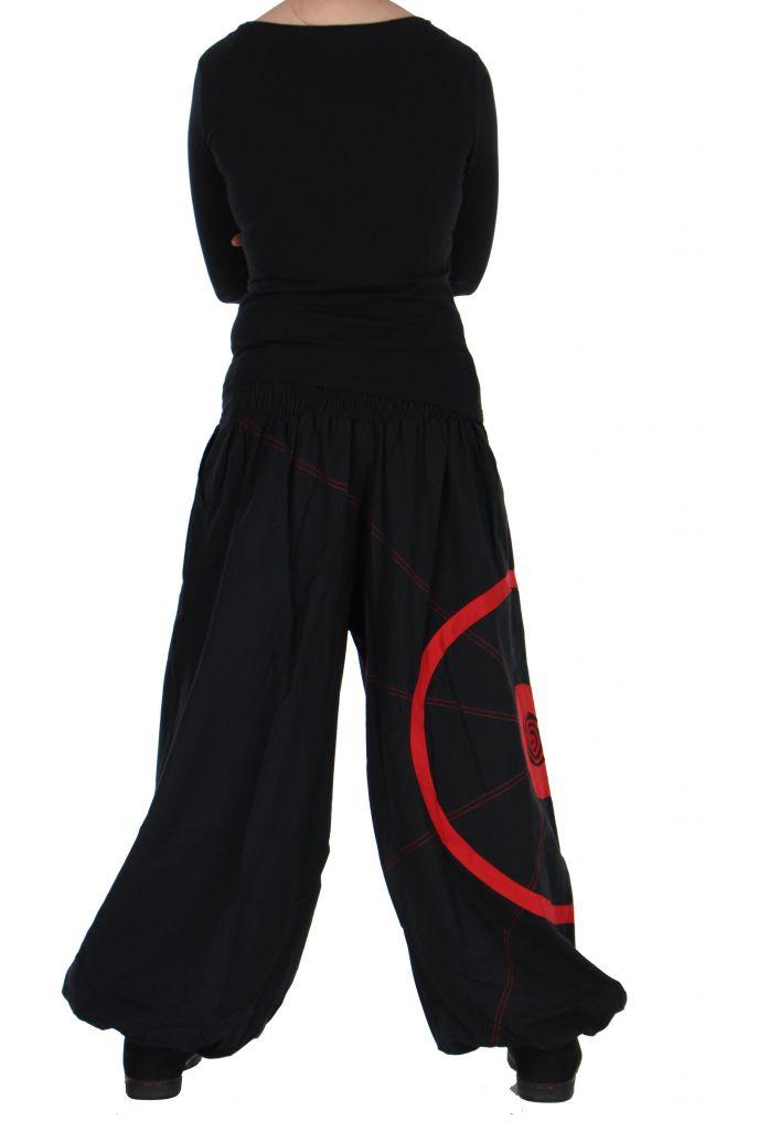 Pantalon noir et rouge aladin original Ciblix 266667