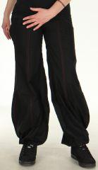 Pantalon Noir pour Femme très Original et Bouffant Basile 278474